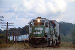 BN 3132, EMD GP50, westbound intermodal train